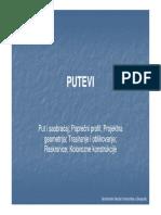 Kolovozne Konstrukcije i Poprecni Profili
