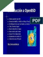 Introducción a OpenBSD