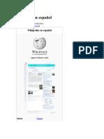Wikipedia en Español