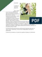 Biografía de Gregor Johann Mendel