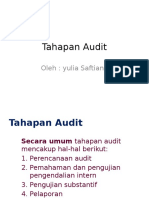 Tahapan Audit