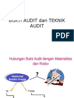 Bukti Audit Dan Teknik Audit