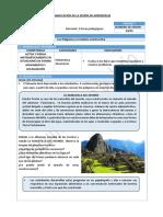 SESIÓN DE MATEMATICA - RUTAS