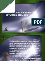 2 Unaplaneficazparadarestudiosbiblicos 111020225509 Phpapp01