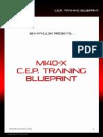 BPak's MI40-X_ CEP Training Blueprint
