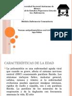 Vacuna Antipoliomielítica Oral Trivalente Tipo Sabin
