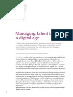 Managing Talent in a Digital Age