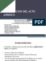 Confirmacion Del Acto Juridico 151127152809 Lva1 App6892