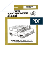 Doc Citroen c25 Peugeot j5