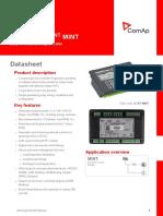 InteliCompact NT MINT Datasheet
