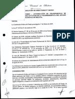 Informe Bolivia