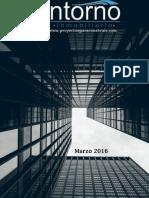 Revista Entorno Inmobiliario - Marzo 2016