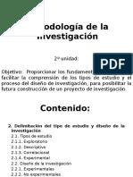 Metodología de la investigación segunda parte