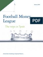 Deloitte Uk Deloitte Football Money League 2007