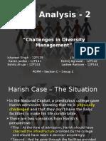 Case 2 - Challenges in Diversity Management