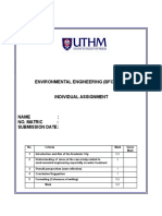 Template Ind Assignment Environmental Engineering