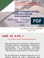 Formato a.p.a Referencias Bibliograficas y Citas