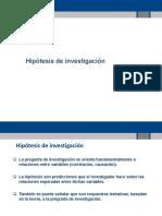 Hipotesis de Investigacion y Estadistica