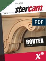 SAMPLE MastercamX9 Router TrainingTutorial