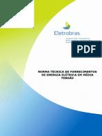 NDEE 01 Norma Fornecimento de Energia Elétrica Em Média Tensão 138 KV e 345 KV 00
