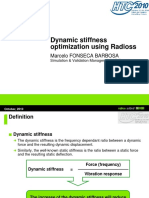 Dynamic Stiffness Optimization Using Radioss