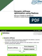 Dynamic Stiffness Optimization Using Radioss