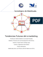 Ensayo Tendecias E-marketing
