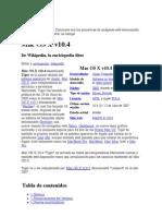 Mac OS X v10 4 - Wikipedia, la enciclopedia libre