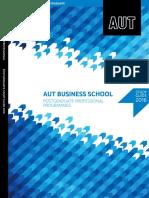 AUT - 2016 Postgraduate Professional Business