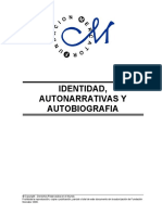 Identidad, Autonarrativas y Autobiografía