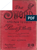231765676 the Sword and How to Use It J Betts 1908