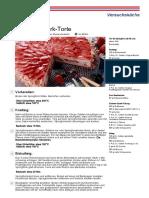 Rezept Erdbeer Quark Torte von Dr. Oetker