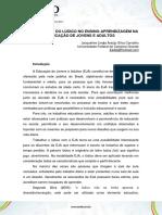 A IMPORTÂNCIA DO LÚDICO NO ENSINO-APRENDIZAGEM NA EDUCAÇÃO DE JOVENS E ADULTOS