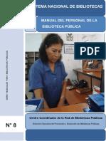 Manual Del Personal de La Biblioteca Publica 201602