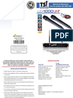 TSI UD 1000-UHF