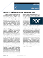 Marketing Esencial Latinoamericano. El Enfoque Del Dr. Paris