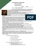 Taller de Castellano 5º (Género Narrativo y Otros - 1er Periodo).Docx