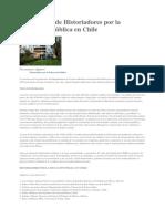 Declaracion de Historiadores Por La Educacion Publica en Chile