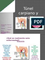 tunel carpiano y miositis