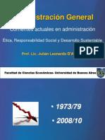 Corrientes Actuales en Administración y Etica Para Empresarios 2015