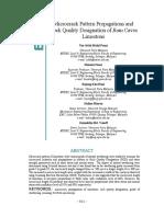Microcrack Pattern Propagations and Rock Quality Designation of Batu Caves