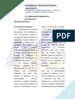 Neurociencias y Orientación Conductual