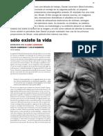Lanzmann, Claude - Entrevista en La Revista Minerva (2010)