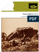 AFV Weapons Profile 03 Tanks Marks I to V