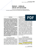 CeFAm-Alkohol – Riskbruk, Missbruk Och Beroende
