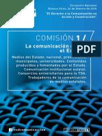 """""""La comunicación desde el Estado"""""""