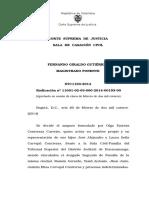 Corte Suprema de Colombia-Imprescriptibilidad de la unión de hecho