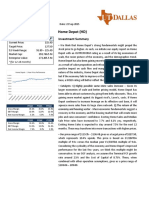 revised hd equity research report