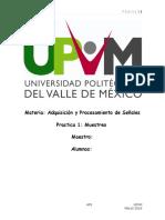 Práctica 1 Muestreo (UPVM)