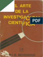 El Arte de La Investigacion Cientifica-Beveridge